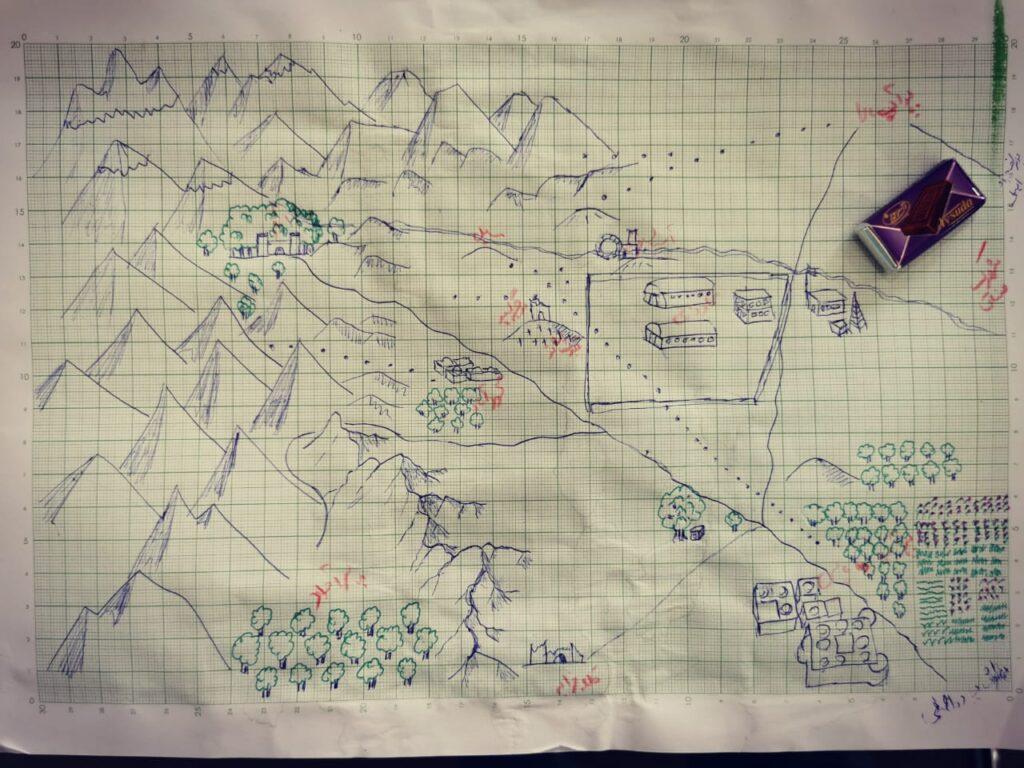 نقشه منطقه پرآب